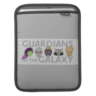 Guardians of the Galaxy | Crew Rough Sketch iPad Sleeve
