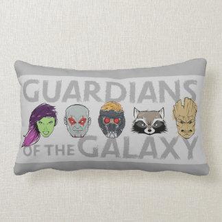 Guardians of the Galaxy | Crew Rough Sketch Lumbar Pillow