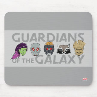 Guardians of the Galaxy | Crew Rough Sketch Mouse Pad