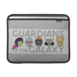 Guardians of the Galaxy | Crew Rough Sketch Sleeve For MacBook Air