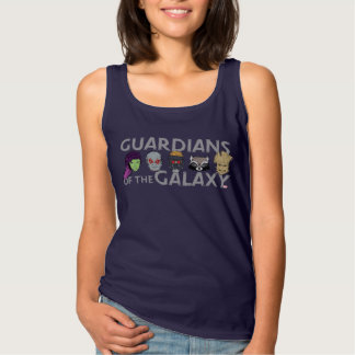 Guardians of the Galaxy | Crew Rough Sketch Tank Top