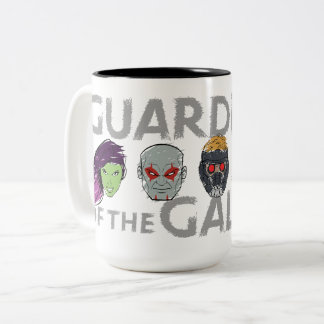Guardians of the Galaxy | Crew Rough Sketch Two-Tone Coffee Mug