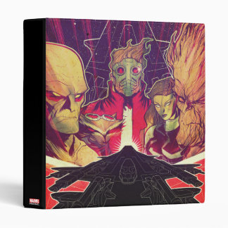 Guardians of the Galaxy | Crew & Ship Art 3 Ring Binder