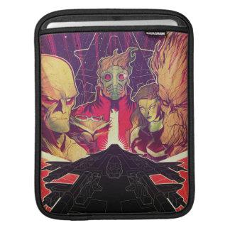 Guardians of the Galaxy | Crew & Ship Art iPad Sleeve