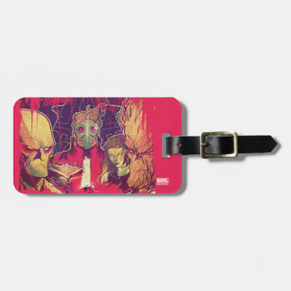 Guardians of the Galaxy | Crew & Ship Art Luggage Tag