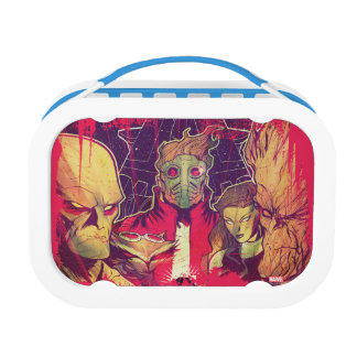Guardians of the Galaxy | Crew & Ship Art Lunch Box