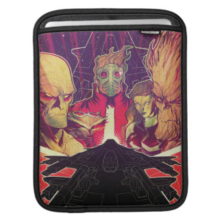 Guardians of the Galaxy | Crew & Ship Art Sleeve For iPads