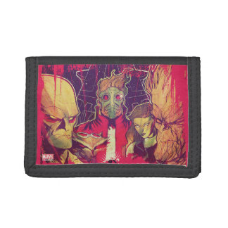 Guardians of the Galaxy | Crew & Ship Art Tri-fold Wallet