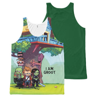 Guardians of the Galaxy | Crew & Treehouse All-Over-Print Tank Top