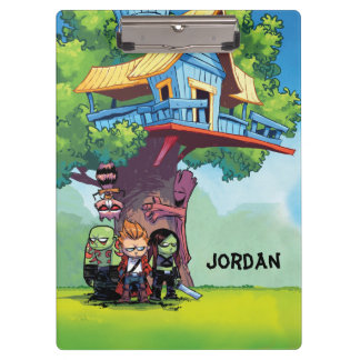 Guardians of the Galaxy   Crew & Treehouse Clipboard