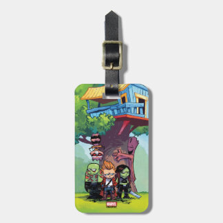 Guardians of the Galaxy | Crew & Treehouse Luggage Tag