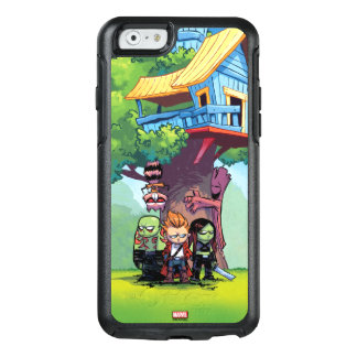 Guardians of the Galaxy | Crew & Treehouse OtterBox iPhone 6/6s Case