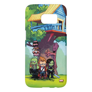Guardians of the Galaxy | Crew & Treehouse Samsung Galaxy S7 Case