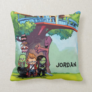 Guardians of the Galaxy | Crew & Treehouse Throw Pillow