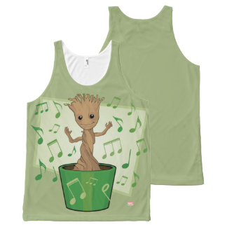 Guardians of the Galaxy | Dancing Baby Groot All-Over-Print Tank Top