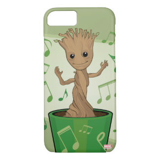 Guardians of the Galaxy | Dancing Baby Groot iPhone 8/7 Case