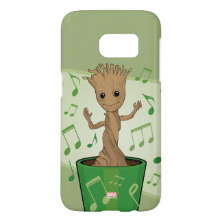 Guardians of the Galaxy | Dancing Baby Groot Samsung Galaxy S7 Case