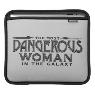 Guardians of the Galaxy   Dangerous Woman iPad Sleeve