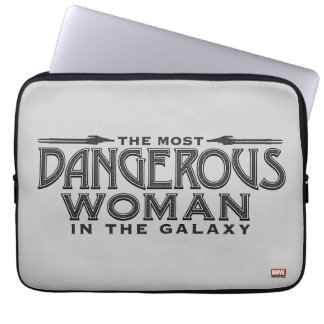 Guardians of the Galaxy   Dangerous Woman Laptop Sleeve