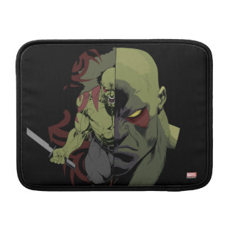 Guardians of the Galaxy | Drax Close-Up Graphic MacBook Sleeve