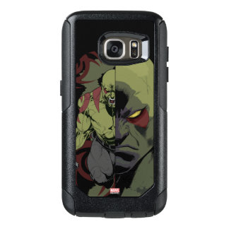 Guardians of the Galaxy | Drax Close-Up Graphic OtterBox Samsung Galaxy S7 Case