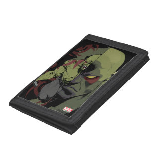 Guardians of the Galaxy | Drax Close-Up Graphic Tri-fold Wallet