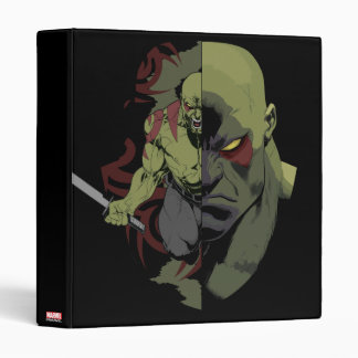 Guardians of the Galaxy | Drax Close-Up Graphic Vinyl Binders