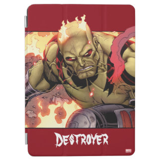 Guardians of the Galaxy | Drax In Flames iPad Air Cover