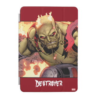 Guardians of the Galaxy   Drax In Flames iPad Mini Cover