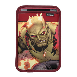 Guardians of the Galaxy | Drax In Flames iPad Mini Sleeves