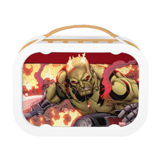 Guardians of the Galaxy | Drax In Flames Lunch Box