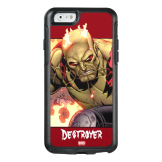 Guardians of the Galaxy | Drax In Flames OtterBox iPhone 6/6s Case