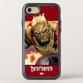 Guardians of the Galaxy | Drax In Flames OtterBox Symmetry iPhone 8/7 Case