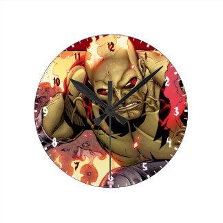 Guardians of the Galaxy | Drax In Flames Wallclocks