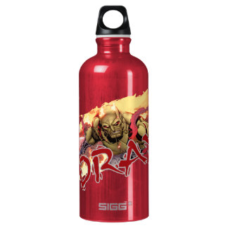 Guardians of the Galaxy | Drax In Flames Water Bottle