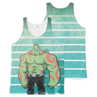 Guardians of the Galaxy | Drax Mugshot All-Over-Print Tank Top