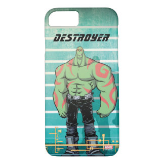 Guardians of the Galaxy | Drax Mugshot iPhone 8/7 Case