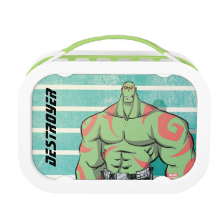 Guardians of the Galaxy | Drax Mugshot Lunch Box