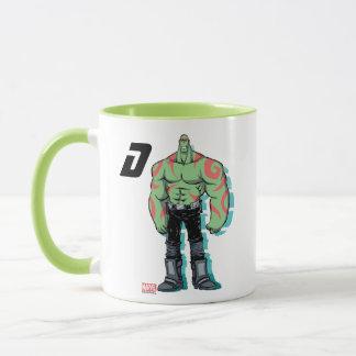 Guardians of the Galaxy | Drax Mugshot Mug