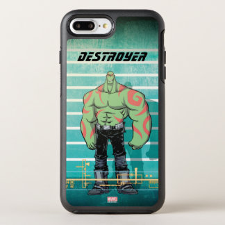Guardians of the Galaxy | Drax Mugshot OtterBox Symmetry iPhone 8 Plus/7 Plus Case