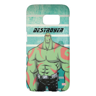 Guardians of the Galaxy | Drax Mugshot Samsung Galaxy S7 Case
