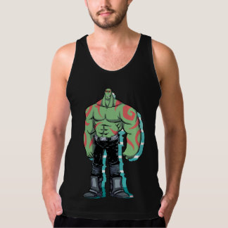 Guardians of the Galaxy | Drax Mugshot Tank Top