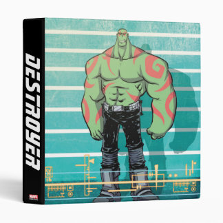 Guardians of the Galaxy | Drax Mugshot Vinyl Binders