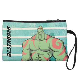Guardians of the Galaxy | Drax Mugshot Wristlet Purse