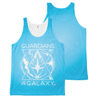 Guardians of the Galaxy | Galactic Logo Badge All-Over-Print Tank Top