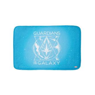 Guardians of the Galaxy | Galactic Logo Badge Bath Mat