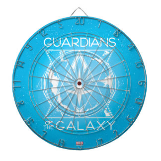 Guardians of the Galaxy | Galactic Logo Badge Dart Boards
