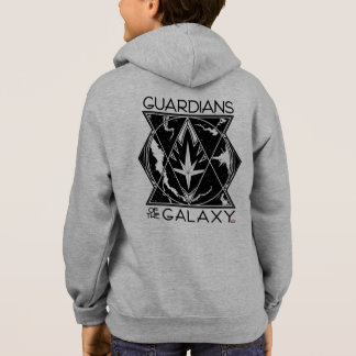 Guardians of the Galaxy | Galactic Logo Badge Hoodie