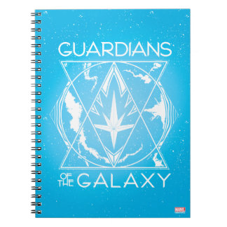 Guardians of the Galaxy | Galactic Logo Badge Notebook