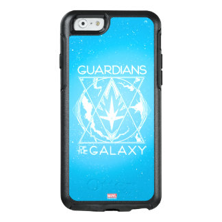 Guardians of the Galaxy | Galactic Logo Badge OtterBox iPhone 6/6s Case